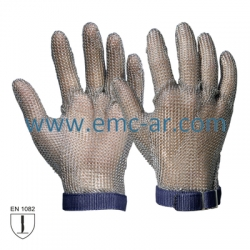Manusa de protectie din zale inox categoria III INOX/buc