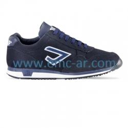 Pantof tip sport  BLU
