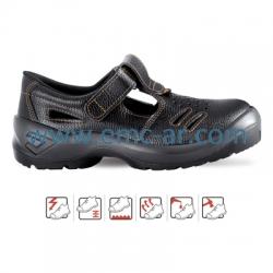 Sandale de protectie cu bombeu metalic TORRE S1