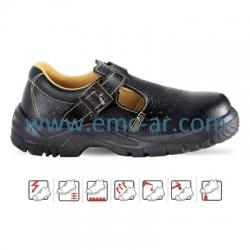 Sandale de protectie cu bombeu metalic si lamela antiperforatie YANTAI S1P