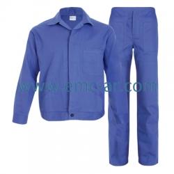 Costum salopeta standard BBC 100% albastru royal BENI