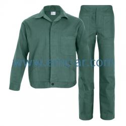 Costum salopeta standard BBC 100% verde BENI
