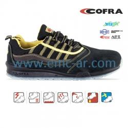 Pantof de protectie cu bombeu aluminiu si lamela antiperforatie NM, MARCIANO S1P