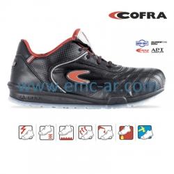 Pantof de protectie cu bombeu aluminiu si lamela antiperforatie NM, MEAZZA S1P