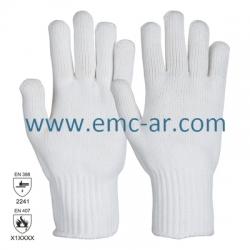 Manusa de protectie antitermica cat II tricot gros HOT