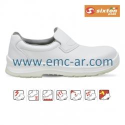 Pantof de protectie alb cu bombeu compozit VENEZIA S2