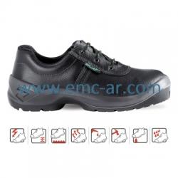 Pantof de protectie cu bombeu metalic si lamela antiperforatie SALO S3