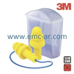 Antifoane interne legate EAR ULTRAFIT cutiuta de plastic