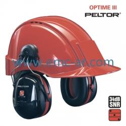 Antifoane externe cu montare pe casca OPTIME III