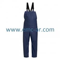 Pantalon de ploaie din PU cu pieptar  ROSTOCK (-B -G -AE)