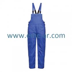 Pantalon cu pieptar vatuit din tercot MINSK (-AE)