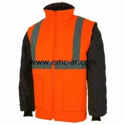 Jacheta cu maneci detasabile reflectorizanta (potocalie)