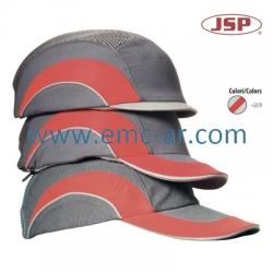Sapca de protectie cu cozoroc scurt HARDCAP     - GR/R-