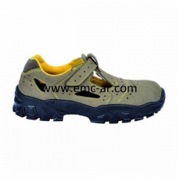 Sandale de protectie cu bombeu metalic si lamela antiperforatie NEW-BRENTA S1P